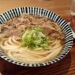 増田うどん - 肉うどん
