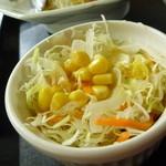 御徒町食堂 - Dec, 10 セットのサラダ