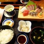 十三 - 料理写真:刺身定食¥1,600
