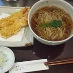 ふる川 - 料理写真:天ぷらそば(\1365)です。