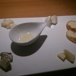 インカメラ コン テラッツァ - デザートのチーズ
