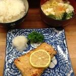 とんかつ 安右衛門 - 鮭ハラスの味噌漬け