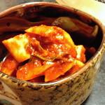 田園焼肉ハウス - カクテキ