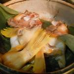 粥茶屋 写楽 - ハタの蒸し煮