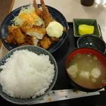 北野屋 - 北野定食780円