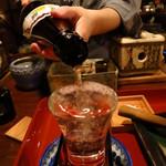 山形長屋酒場 - 出羽桜580円