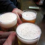 姫路スタンド酒場 初代みきや - ビールで乾杯~