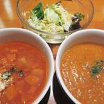 ルパン - ボルシチ&エビスープ&サラダ