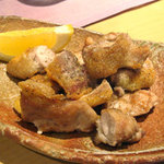 旬菜ゆるり - 地鶏の炭焼きポン酢