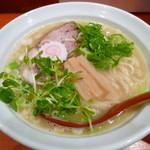 ひのき屋 - 鶏塩中華そば(H25.12.10)