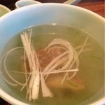 牛たん 大野屋 - テールスープ