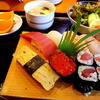 築地日本海 - 料理写真:ランチの竹寿司です
