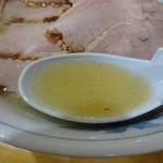麺龍 - 塩スープ