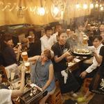 浜焼酒場 魚○ - 賑やかに飲むのにピッタリ