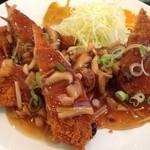 中国料理 龍花 - 白身フライの甘酢あんかけ・木曜日替りランチ(600円)