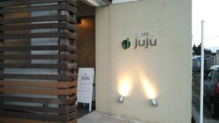 cafe juju - 外観。