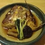 味処菊政 - たいかぶと煮