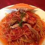 イル・マーレ ブルー - ワタリガニのトマトソース