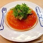 23049039 - ディナーメルシーコース(5000円) 前菜 ラ・フランスと魚介のファルス