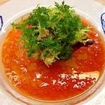 23049044 - ディナーメルシーコース(5000円) 前菜 ラ・フランスと魚介のファルス