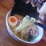 麺屋 春爛漫 - 塩ラーメンリフトアップ
