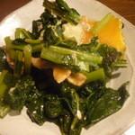 酒菜楽 - かぶの葉っぱ