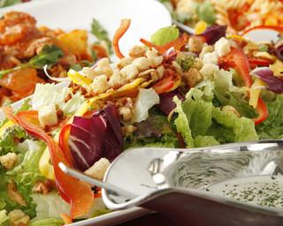 1K - 有機野菜のシーザーサラダ