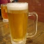 23050109 - 生ビールで乾杯です