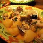 23050826 - 豚肉とアサリのロースト、アレンテージョ風
