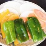 千力 - 焼き野菜