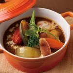 野菜の恵み - 料理写真:野菜たっぷり茸ハンバーグシチュー