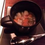 23052395 - お通しのスープ
