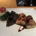 こくりこ - フォアグラ&焼き野菜