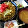 お好み焼き でぃお - 料理写真:チャーめん丼 680円