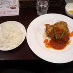 インドカレー&アジアンダイニングどんのば - 若鶏のロースト