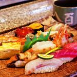 23055486 - お寿司の盛り合わせ。隠岐の新鮮な魚介類が気軽に楽しめます。