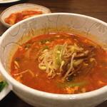 韓味楽 - ランチ…ユッケジャン