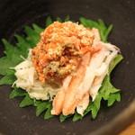 鮨 志の助 - 香箱蟹 (2013/12)