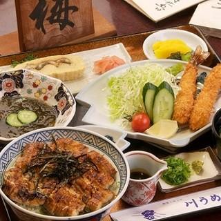 『おすすめ』川うめ丼お得セット…3,150円
