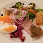 イルガッビアーノ - 前菜盛合せ(lunch)