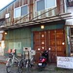 ソウル ツリー - 本当に外観は倉庫です