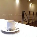 南あわじ美食農園オリザ - ( ;´Д`)食後のコーヒー♪ 満腹っすw