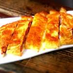 らーたん - ウインナーとチーズのオムレツ風チヂミ