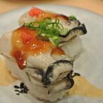 23064620 - 茹で牡蠣オリーブソース