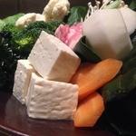 久高 - コース限定の野菜たっぷり鍋