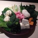久高 - コース限定の野菜たっぷり鍋2