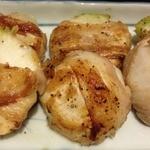 久高 - 冬季限定のカブの豚肉巻き焼き