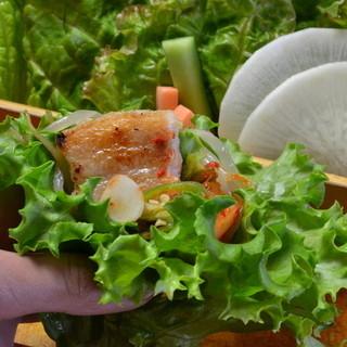 野菜不足の方も安心!いっぱい飲んでしっかり野菜も食べれる店!
