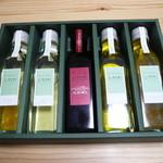 23066291 - オリーブオイル小瓶の詰め合わせ