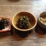 coctura桜井 - ご飯のお供 3種